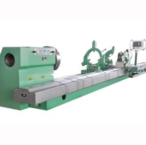 Conventional Manual Heavy Duty Horizontal Lathe for Turning Shaft Pipe pictures & photos