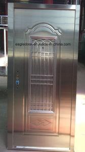 India Popular Stainless Steel Door with Glazing Trim in SUS304 (ES-8027) pictures & photos
