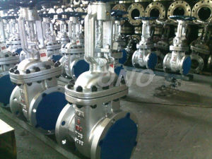 API Wcb Rising Stem Flanged Gate Valve pictures & photos