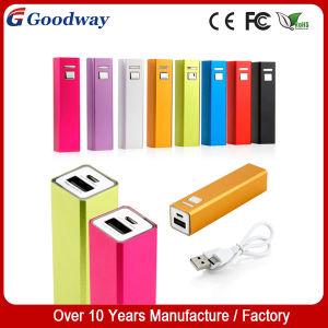 2600mAh Metal Li-ion Battery Power Bank for Mobile Phone