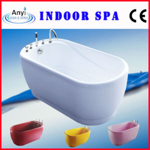Colorful Modern Bathtub with Hand Shower (AT-026)