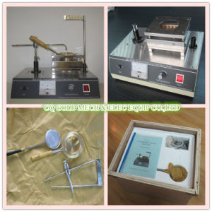 Gd-3536 ASTM D92 Manual Cleveland Open Cup Method Flash Point Tester pictures & photos