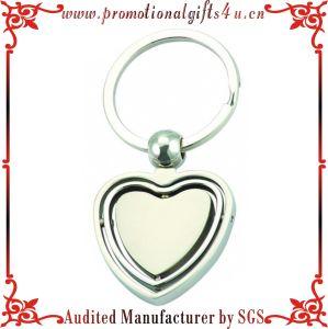 Heart Shape Rotatable Key Chains (JY-MK-035)