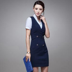 Wholesale Fashion Design Career Slim Dress Women for Ladies Dresses pictures & photos