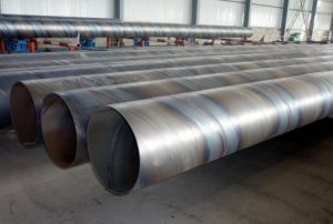 ASTM A252 Spiral Welded Carbon Steel Pipe