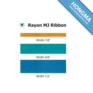 Rayon Mj Ribbon pictures & photos