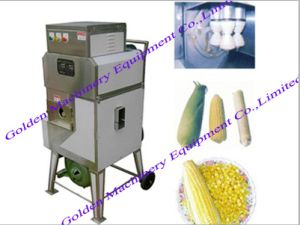 Chinese Selling Stainless Steel Fresh Sweet Corn Shelling Threshing Machine pictures & photos