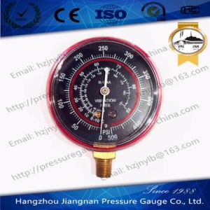 500psi Vibration Free Refrigerant Pressure Gauge pictures & photos