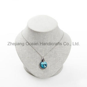Linen Jewelry Display for Necklace (MT-004) pictures & photos