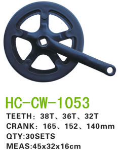 38t/ 36t/ 32tbicycle Parts Chainwheel&Crank for Lady Bike (CW-1053) pictures & photos