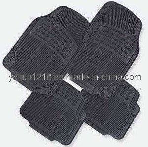 Anti-Slip Rubber & PVC Car Floor Mat (YD-0010)