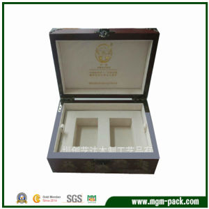 Luxury Solid Wood Watch Box with Two Slot pictures & photos