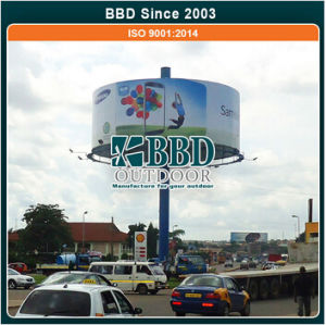 Good Quality Round Display Steel Advertise Boards