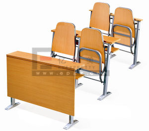 Hot Sale Step Table Chair for University Classroom pictures & photos