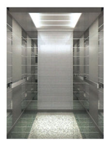 Reliable Passenger Elevator with Mirror Etching Hairline Stainless Steel