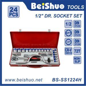 24PC 1/2′′ Dr. Socket Set pictures & photos