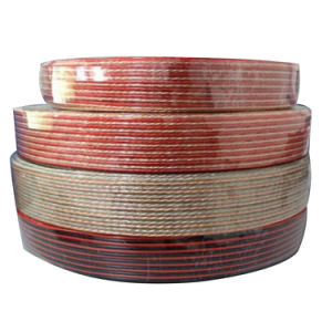 Transparent Car Speaker Cable/PVC Cable/Electric Wire/Copper Cable pictures & photos