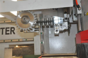 Wood Door Cabinet Making CNC Router with Boring Head pictures & photos