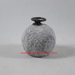 Lychee Surface Stone Marble Doorstop White/Stone Marble Doorstopper pictures & photos