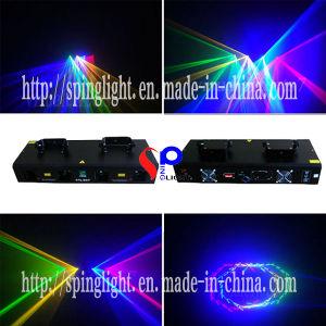 High Power Laser Projector 4 Lens 4 Color 800MW Rgyb DJ Lighting for Laser Show