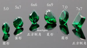 Green Nanosital Gemstone for Jewelry pictures & photos