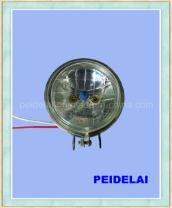 "3"" Inch Round Crystal Solar Lamp pictures & photos"