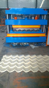 Bravo Roofing Glazed Tile Foming Machine pictures & photos
