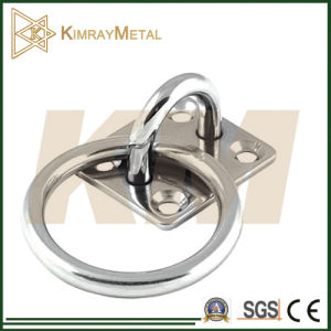 Stainless Steel Pad Eye with Ring (304/316) pictures & photos