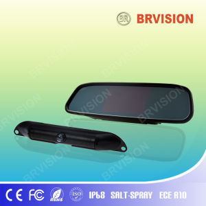 Digital Rear View Car Camera System with 4.3 Inch Mirror pictures & photos
