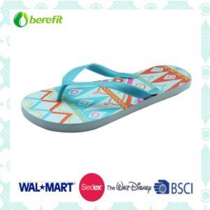 Light Color Printing and PVC Straps. Flip Flops pictures & photos