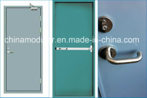 Secutiry Door with Vertical Section Reinforcement (CHAM-SDR02) pictures & photos