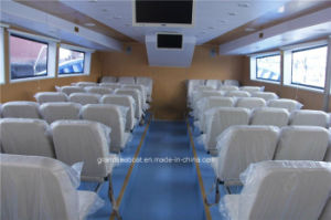 150seats Speed Passenger and Ferry Ship/Boat with Steel Hull/FRP Deck pictures & photos