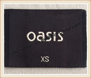 High Quality Garment Trademark Woven Label (WL1012) pictures & photos