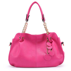Colors Soft PU Leather Foldable Woman Shopping Bag (XD140218)