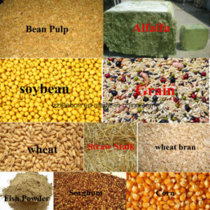 Animal Grains Grass Powder Feed Pellet Mill pictures & photos