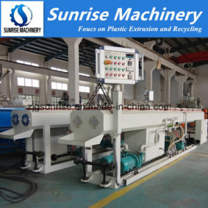 Plastic Machine PVC Double Pipe Making Machine pictures & photos