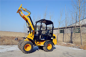 Wheel Loader Model CS906, 25HP Mini Loader pictures & photos