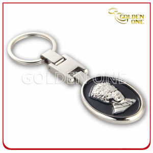 Factory Supply Nickel Plated 3D Design Metal Key Tag pictures & photos