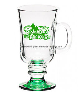 Colored Bottom Glass Beverage Cup, Drinking Glass pictures & photos