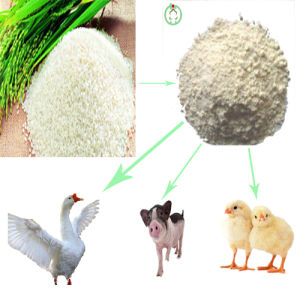 Rice Protein Meal (protein powder) Animal Feed pictures & photos