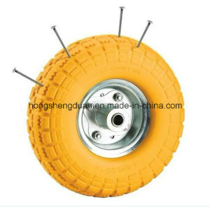 PU Foaming Wheel (350-4PU) pictures & photos