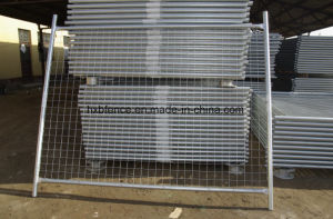 Easy Assembly Anti-Rust Galvanized Steel Temporary Fence for Sale pictures & photos