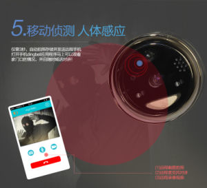 Wireless WiFi Video Visual Door Bell Phone Doorbell Home Security for Android Ios Mobile Phone WiFi Doorbell pictures & photos