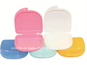 Hot Sale Dental Denture Retaine Box Dental Products (with Hole) pictures & photos