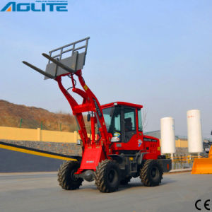 Earth Moving Machine 1ton Tractor Small Loader Front Loader for Sale pictures & photos