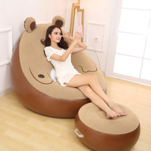 Indoor Sofa Bed Living Room Furniture Inflatable Bear Lazy Sofa pictures & photos