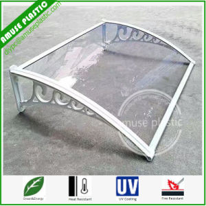 Clear High Impact Resistant Polycarbonate Window  Sunshade Aluminum Bracket Awnings pictures & photos