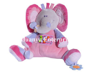 New Design of Baby Stuffed Plush Elephant Toy pictures & photos