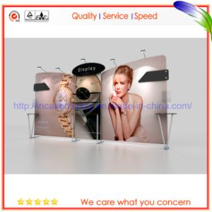 Frameless Straight Exhibition Booth Pop up Stand