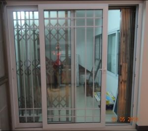 china pvc main entrance sliding door wanjia08 china